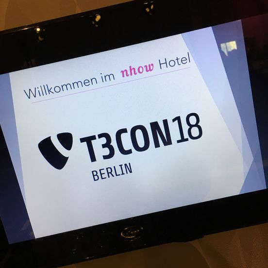 Welcome to t3con18