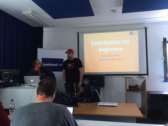 "Mathias Schreiber, Frank Nägler: ""Contribution for beginners"""