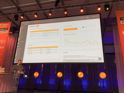 "Vortrag ""Dashboards in TYPO3 will make your life easier!"""