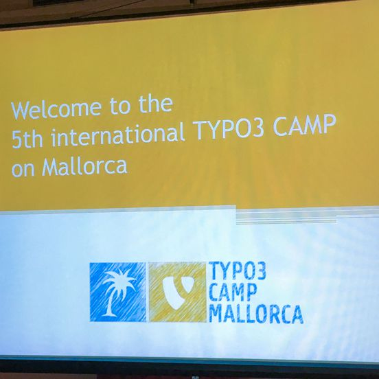 Start des TYPO3camps Mallorca
