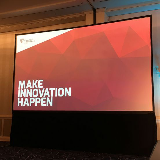 T3CON16 - Make innovation happen