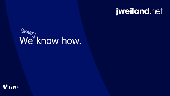 jweiland.net - We share know how